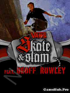 Tải Game Vans Skate and Slam - Trượt Ván Cho Java