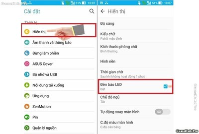 Hướng dẫn bật đèn Flash khi nhận cuộc gọi Android iOS