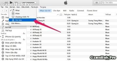 Hướng dẫn cài bài hát Mp3 làm nhạc chuông cho iPhone
