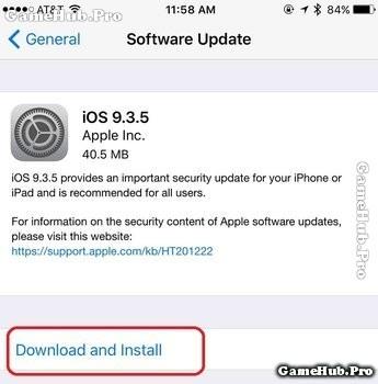 Cập nhật ngay iOS 9.3.5 ngăn chặn mã độc trên iPhone
