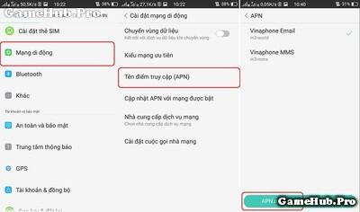 Khắc phục đả đăng ký 3G nhưng không vào mạng được ?