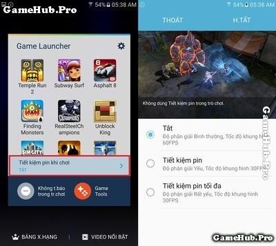 Đem tính năng Game Tools trên S7 lên máy Samsung khác