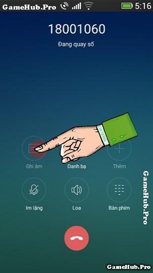 Hướng dẫn cách ghi âm cuộc gọi điện thoại Oppo Neo 9