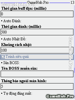 Hack Ngọc Rồng Online 131 Premium v6 cho Java Android