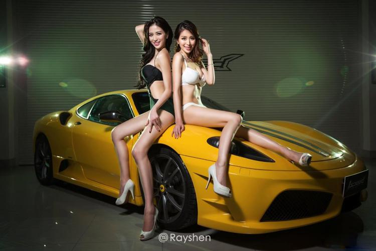 Hình ảnh gái đẹp và siêu xe chọc lọc gợi cảm full HD