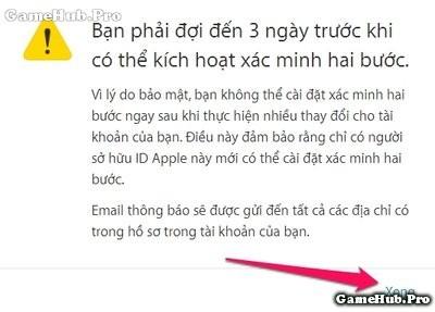 Hướng dẫn cách bảo mật tài khoản Apple ID dễ dàng