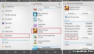 Khắc phục lỗi không đủ bộ nhớ cài ứng dụng cho Android