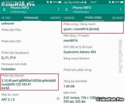 Hướng dẫn kiểm tra điện thoại 32 bit hay 64 bit
