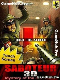 Tải game 3D Saboteur - Bắn súng 3D đồ họa đẹp cho Java
