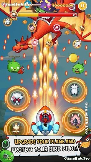 Tải game Angry Birds Ace Fighter - Chim Phiêu Lưu Android