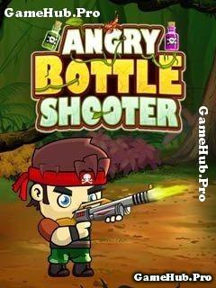 Tải game Angry Bottle Shooter - Cao thủ bắn bắn chai Java