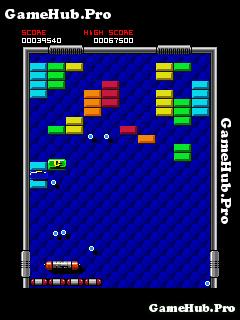 Tải game Arkanoid - Giải trí phá vỡ hình khối cho Java