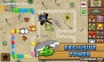 Tải game Bloons TD 5 - Thủ tháp Mod tiền cho Android