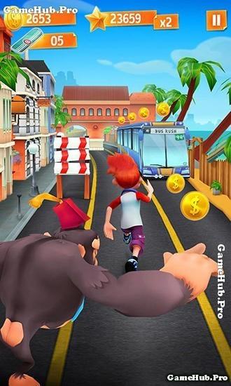 Tải game Bus Rush - Chạy trốn đường tàu cho Android
