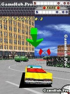 Tải game Crazy Taxi 3D - Nhập vai lái xe Taxi cho Java