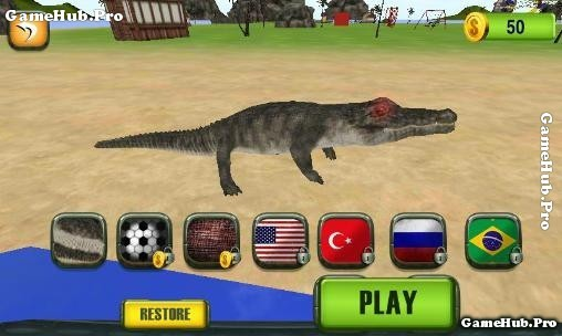 Tải game Crocodile Attack 2016 - Cá Sấu nổi giận Android
