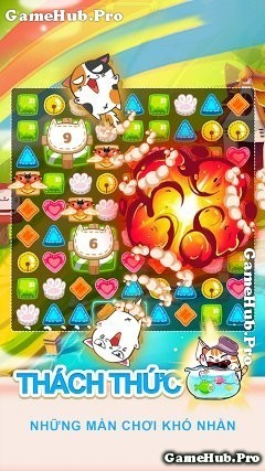 Tải game Fancy Cats - Nuôi mèo dễ thương cho Android