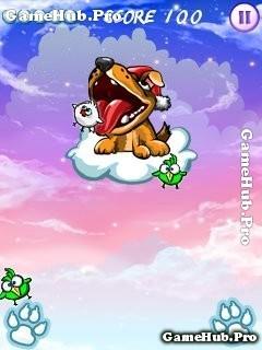 Tải game Hungry Dog - Cún con ăn chim dễ thương cho Java