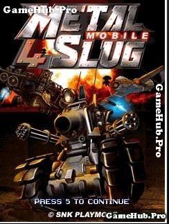 Tải game Metal Slug 4 Mobile - Bắn súng giải cứu Java