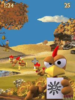 Tải game Moorhuhn Deluxe - Bắn gà siêu hay cho Java