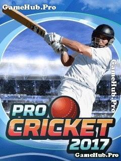 Tải game Pro Cricket 2017 - Đánh bóng chày cho Java