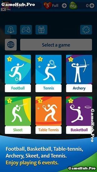 Tải game Rio 2016 Olympic - Thế vận hội mùa hè Android
