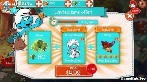 Tải game Smurfs Epic Run - Làng xì trum cho Android