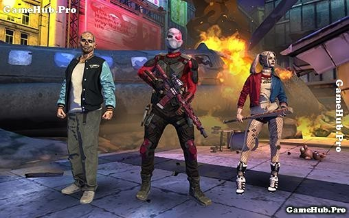 Tải game Suicide Squad - Bắn súng cực hay cho Android