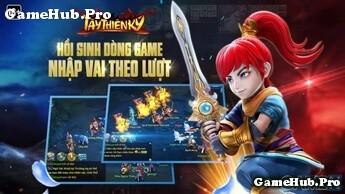 Tải game Tây Thiên Ký - Nhập vai đánh theo Lượt Garena