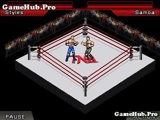Tải game TNA iMPACT - Đối kháng võ đài hay cho Java