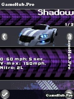 Tải game Ultimate Street Racing - Đua xe 3D cho Java