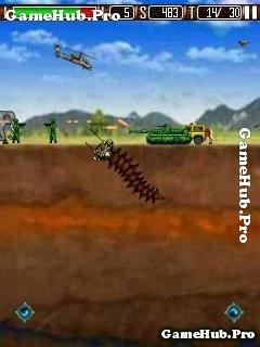 Tải game Worm's City Attack Pro - Tàn phá thành phố Java