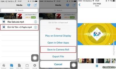 Thủ thuật tải mọi video và lưu vào thư viện trên iPhone