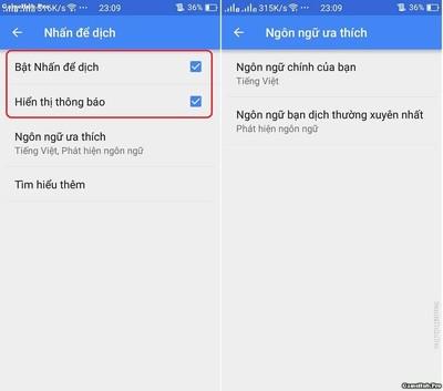 Đem tính năng dịch Văn Bản trên Note 7 lên dòng máy khác