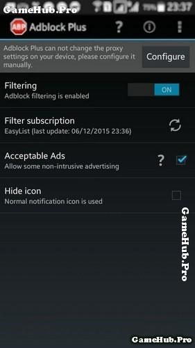 Hướng dẫn xóa quảng cáo trong các ứng dụng trên Android