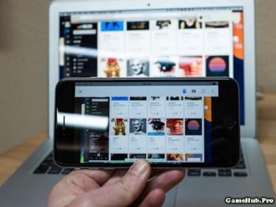 Hướng dẫn sử dụng iPhone, iPad điều khiển máy tính từ Xa