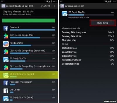 Cách tắt các ứng dụng chạy ngầm hoàn toàn trên Android