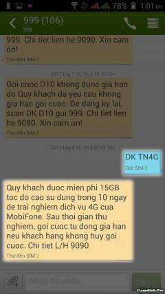 Chia sẻ cách nhận 15GB data 4G của Mobifone miễn phí