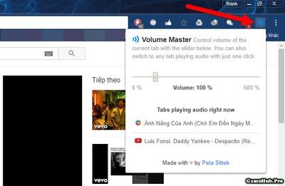 Hướng dẫn chỉnh âm lượng cho từng Tab riêng trên Chrome