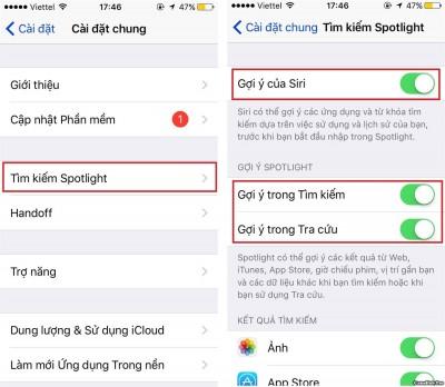 Những tính năng cần tắt, vô hiệu hóa trên iOS 10