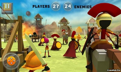 Tải game Battle of Rome - War Simulator Mod Money Android