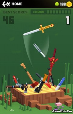 Tải game Flippy Knife - Phi dao siêu hay Mod Money