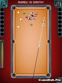 Tải game Pool Pro - Đá Bi-a cực hay đồ họa đẹp cho Java