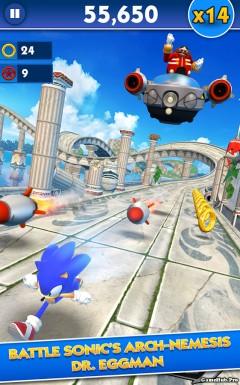 Tải game Sonic Dash - Phiêu lưu Mod Money Android