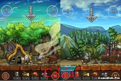 Tải game Tribia Vikings Adventure - Đế chế Viking cho Java