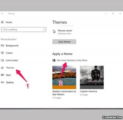 Hướng dẫn tải và cài đặt Theme, giao diện cho Windows 10