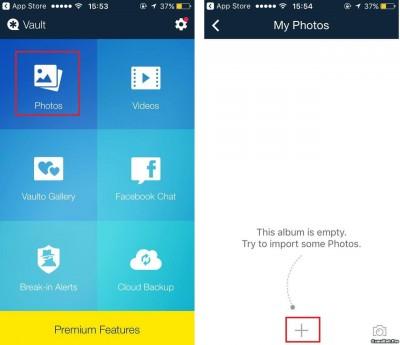 Thủ thuật ẩn hình ảnh, video, dữ liệu trên iPhone đơn giản