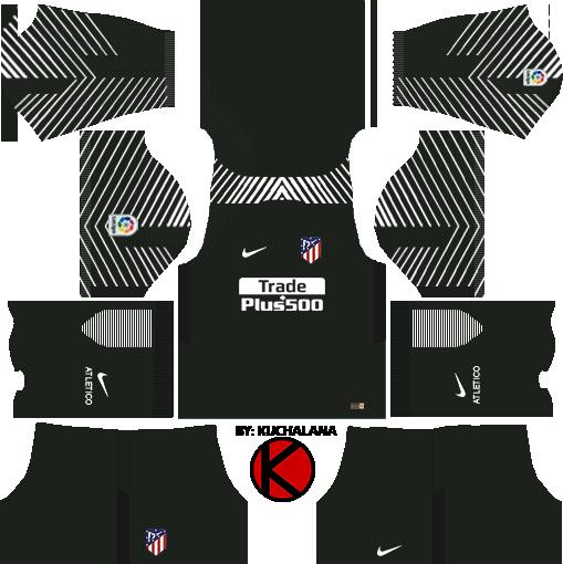 Atlético de Madrid Kits & Logo Dream League Soccer 2017