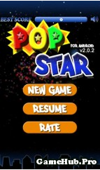 Tải Game Pop Star for Android Cực Hay miễn phí