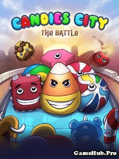 Tải Game Candies City – The Battle Bắn Kẹo Cho Java